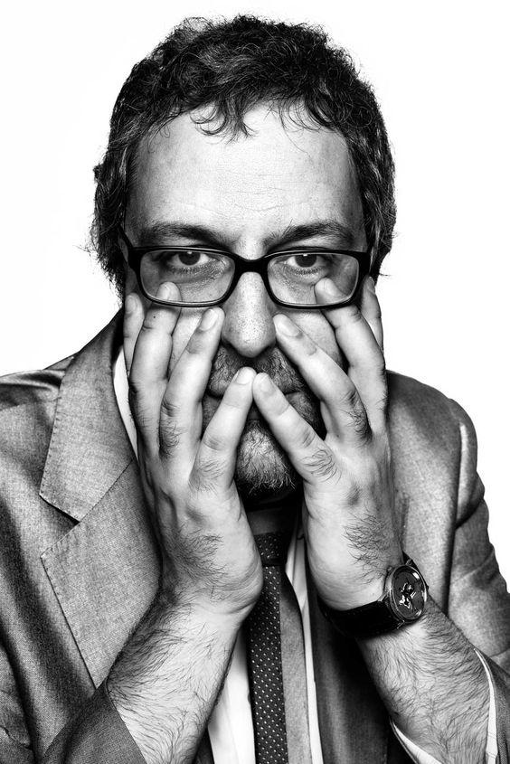 fotografía en blanco y negro de retrato