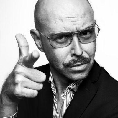 Ojos de hojalata fotografía de retrato masculino artístico en blanco y negro de Luis alberto NSDDTA