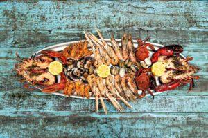 fotografía de gastronomía mariscada asturias